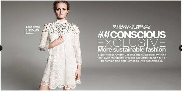 H&M sustainable fashion