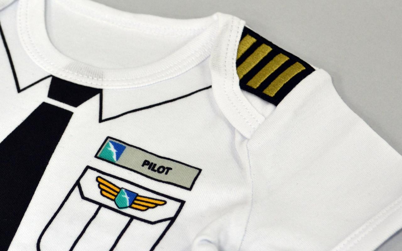 SilkAir Baby Romper Pilot