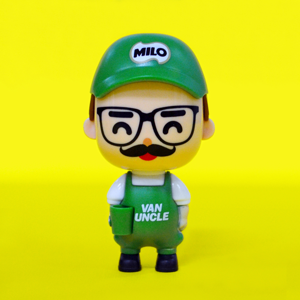 Milo Van Khakis Collectibles, uncle