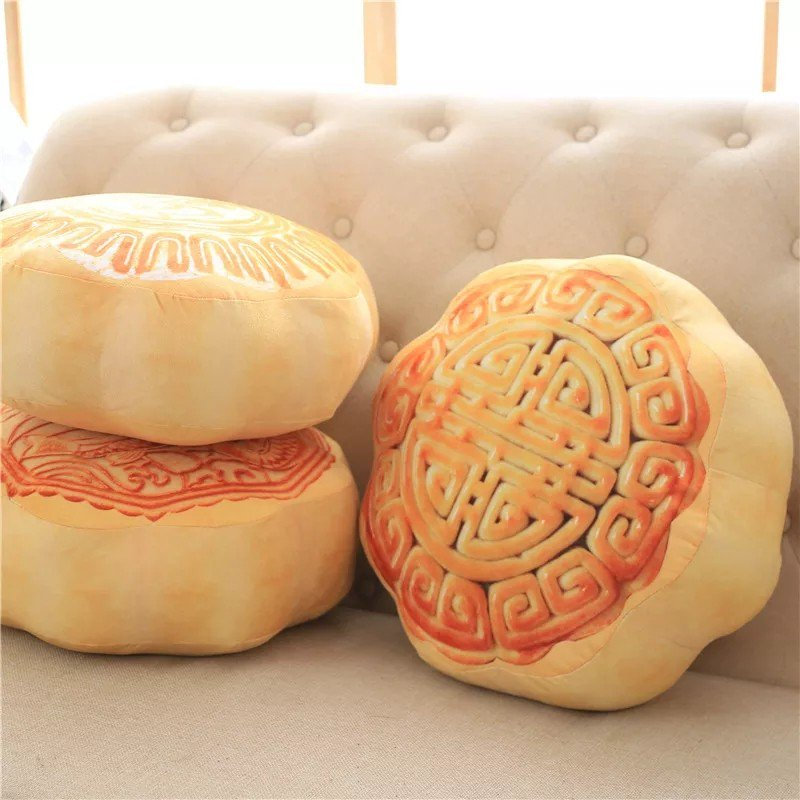 Mooncake cushion